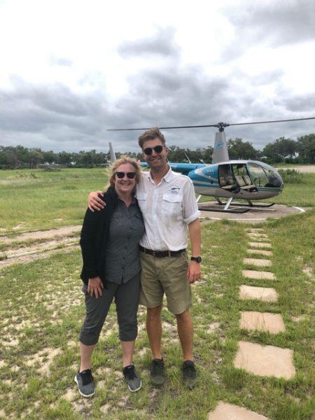 Okavango Delta helicopter tour